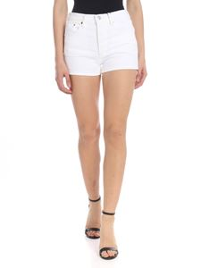 Levi's - White denim shorts