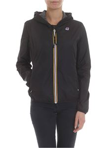 K-way - Lily Poly jacket in black jersey