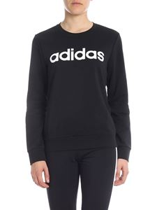 Adidas - Black cotton sweatshirt