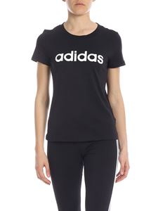 Adidas - Essentials Linear t-shirt in black