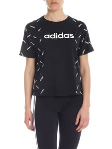Adidas - T-shirt girocollo Graphic nera
