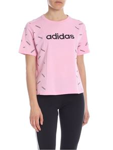 Adidas - T-shirt girocollo Graphic rosa