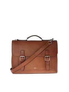 Mulberry - Borsa ventiquattrore Chiltern marrone