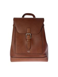 Mulberry - Zaino Chiltern in pelle marrone