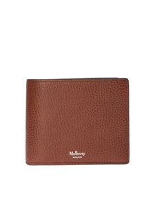 Mulberry - 8 slots wallet in brown leather