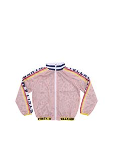 Stella McCartney Kids - Pink jacket with branded bands