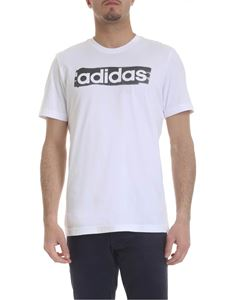 Adidas - White T-shirt with Adidas print