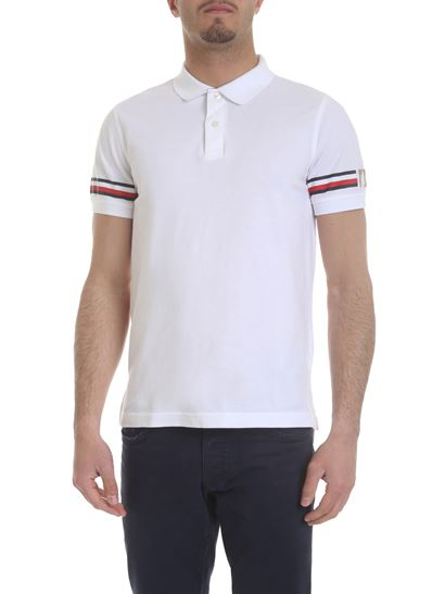 4a243b3d Tommy Hilfiger Spring Summer 2019 white pique cotton polo ...