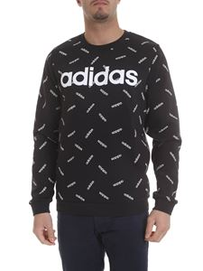 Adidas - Black Graphic sweatshirt