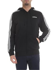 Adidas - Essential 3-Stripes sweatshirt in black