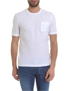 Zanone - White T-shirt with chest pocket