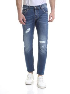 Be Able - Jeans Davis Shorter blu