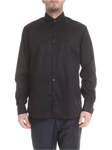 Karl Lagerfeld - Black shirt with studded buttons