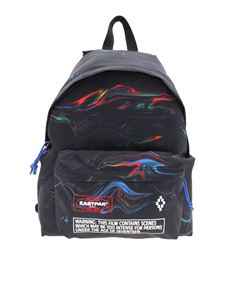 Marcelo Burlon - Eastpack backpack in black with multicolor pattern