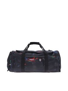 Marcelo Burlon - Borsone Eastpak Gym nero motivo multicolor