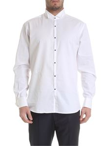 Karl Lagerfeld - White shirt with studded buttons