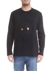 Comme Des Garçons Shirt  - Rabbit Is crewneck sweatshirt in black