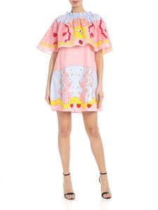 Vivetta - Macerata dress in pink with multicolor prints