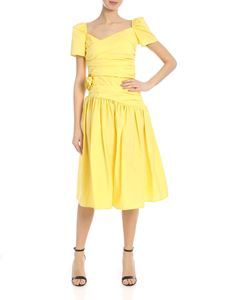 Vivetta - Lanciano dress in yellow with drapery