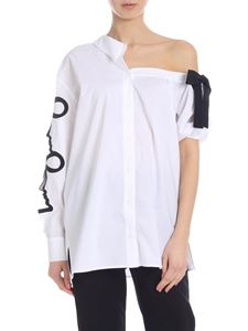 Vivetta - Pisa shirt in white with black bow
