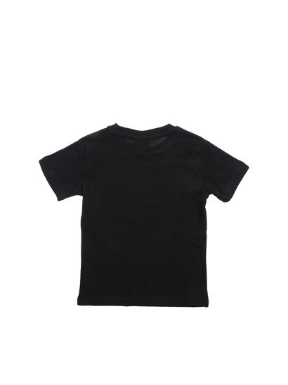 3c56b06d Fila Spring Summer 2019 black t-shirt with front logo print - 687196 002