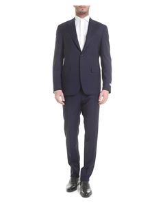 Canali - Light wool suit in blue