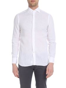 Borriello Napoli - White shirt with classic collar