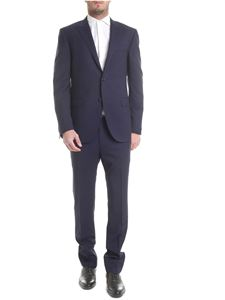 Corneliani - Light wool suit in blue