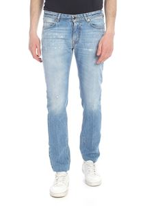 Briglia 1949 - Ribot destroyed jeans in light blue
