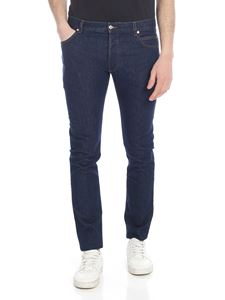 Balmain - Jeans slim fit blu scuro