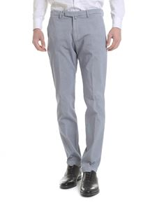 Briglia 1949 - Cotton trousers in blue and white