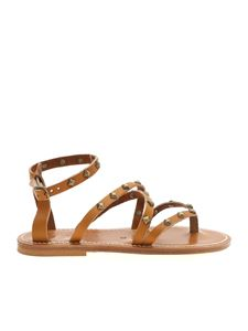 K. Jacques - EpicurePyr F Cuir sandals in beige
