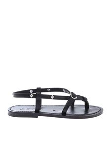 K. Jacques - JivalPyr F Ebene sandals in black
