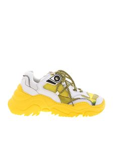 N° 21 - Billy sneakers in white and yellow