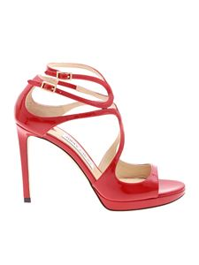 Jimmy Choo - Lance Pf 100 red sandals