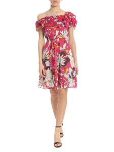 Liujo - Fuchsia dress with floral pattern
