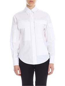 Sportmax - Ombra shirt in white