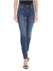 Liujo - Divine low-rise jeans in blue