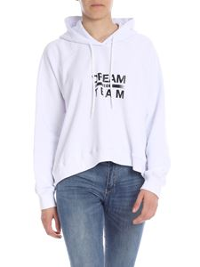 MSGM - White sweatshirt with Dream Team print