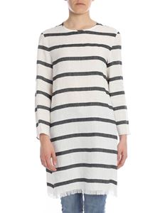 S Max Mara - Norma blouse with black and white stripes