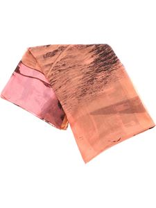 Paul Smith - Paul's Photo scarf in pink