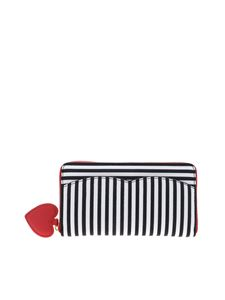 Lulu Guinness - Continental wallet in black and white