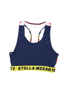 Stella McCartney Kids - Blue top with branded elastic