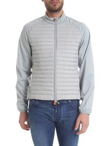 Save the duck - Gray down jacket with quilted front