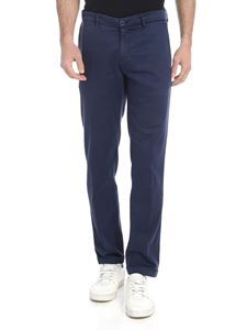 Re-HasH - Blue trousers with turn-ups