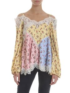 Ermanno by Ermanno Scervino - Multicolor blouse with floral print