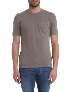 Zanone - Dove-gray pure cotton T-shirt
