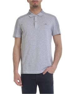 Lacoste - Melange grey polo with contrasting detail
