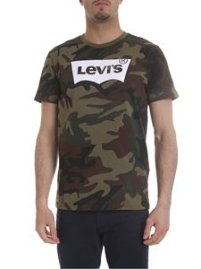 Levi's - Camouflage printed t-shirt in green