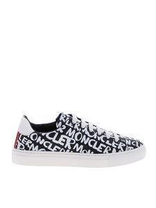 Moncler - New Leni sneakers in black and white